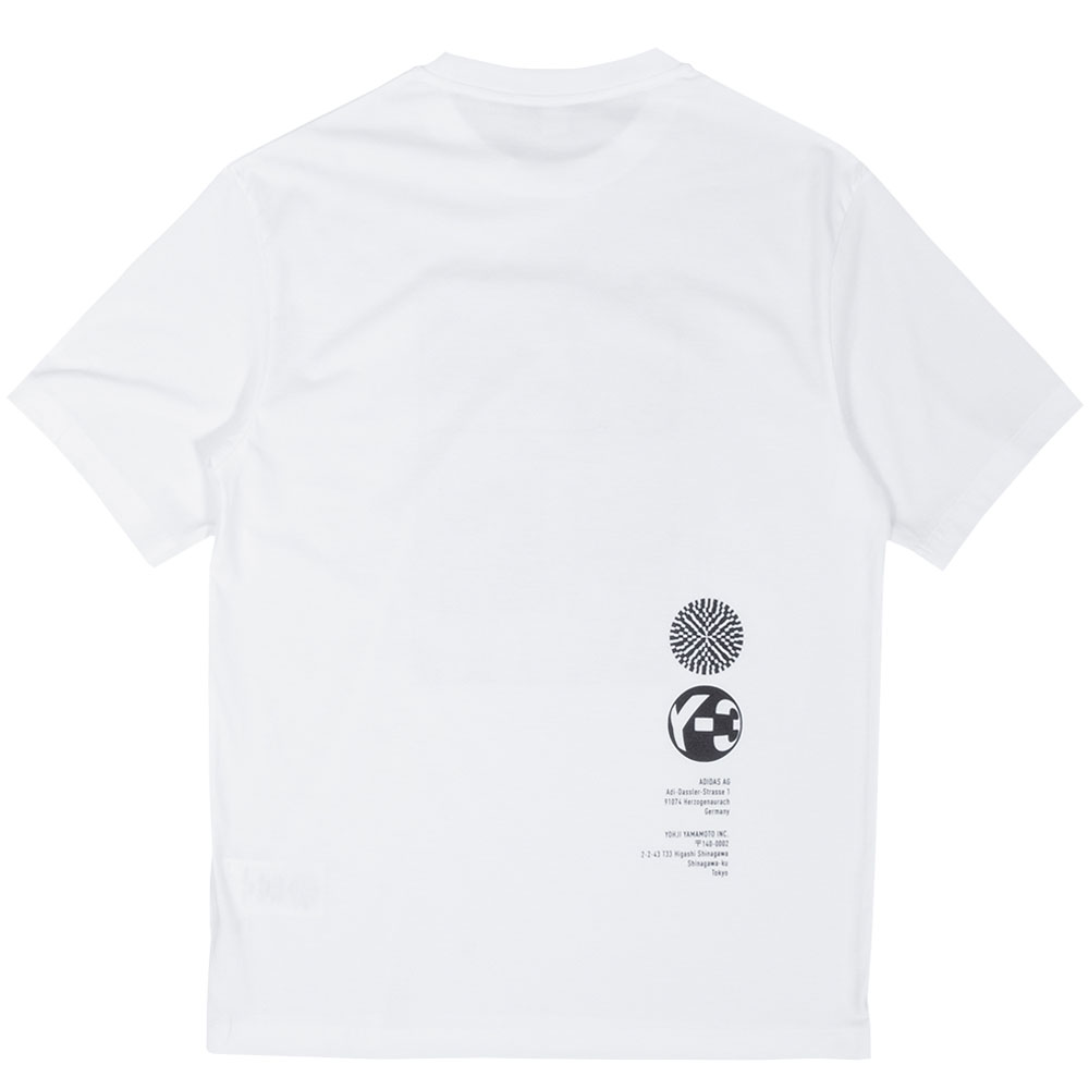 Y-3 Tシャツ U CH2 ZINE PAGE 1 SS TEE HB3347 CORE WHITE