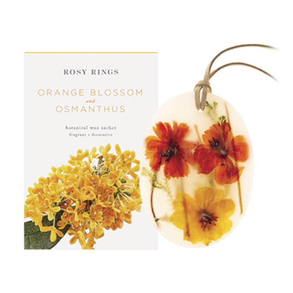 ROSY RINGS サシェ Japan's Premier ORANGE BLOSSOM & OSMANTHUS