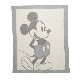 BAREFOOT DREAMS ベアフットドリームズ Vintage Disney Baby Blanket ブランケット