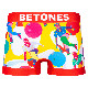 BETONES ボクサーパンツ BOWLER BOW001 RED