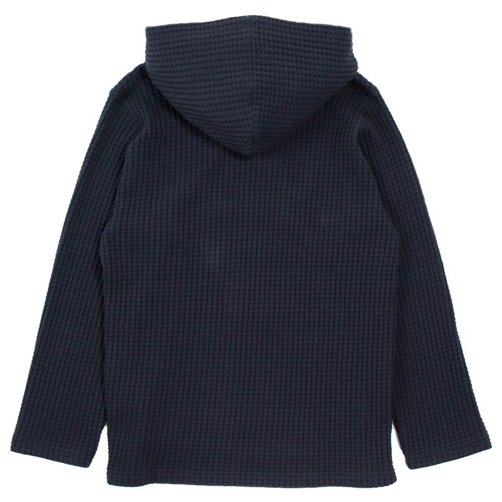 Seagreen フーディー BIG WAFFLE Mexican Hoodie MSEA21S8596-M NAVY