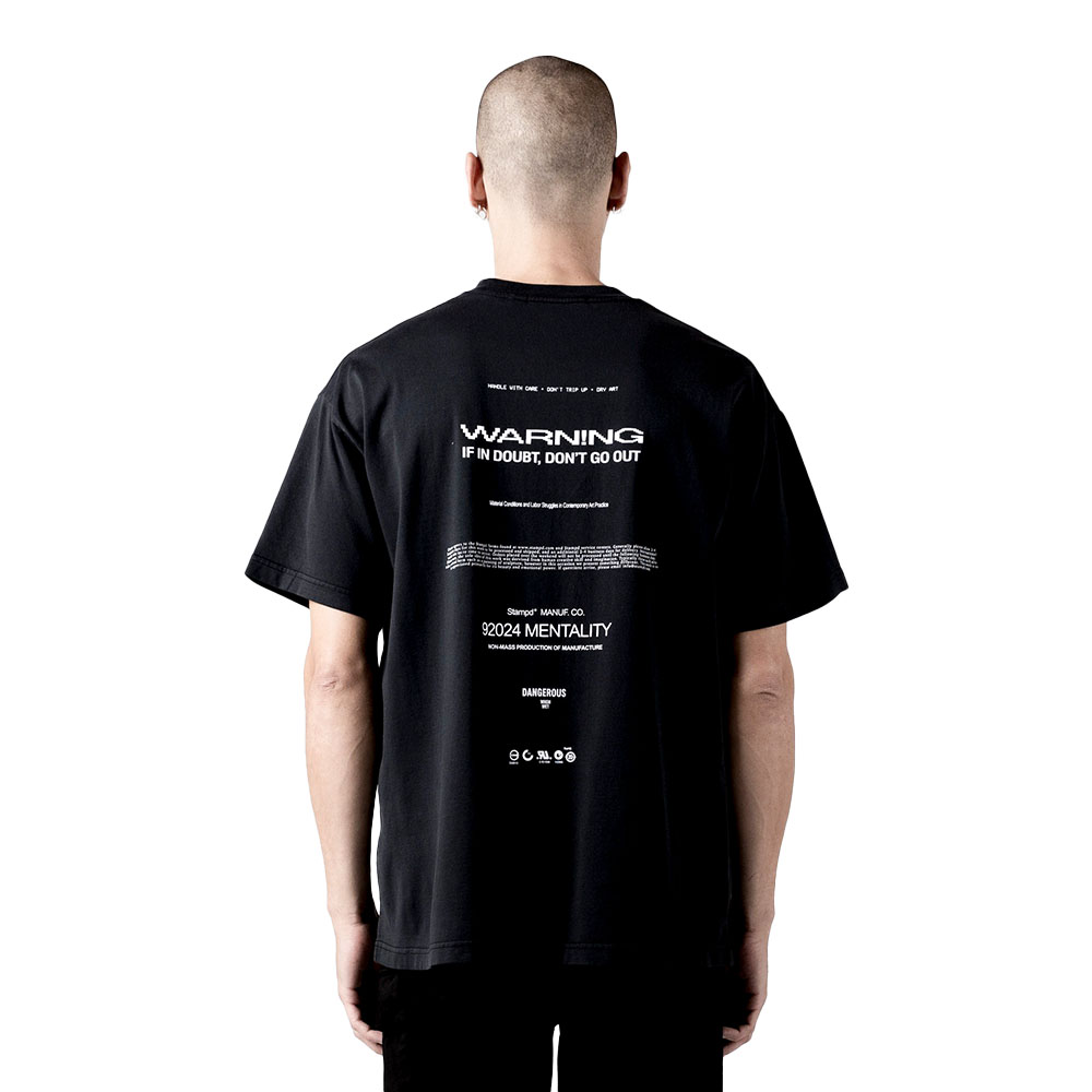 STAMPD Tシャツ Relax Relaxed Tee SLA-M2720TE BLACK