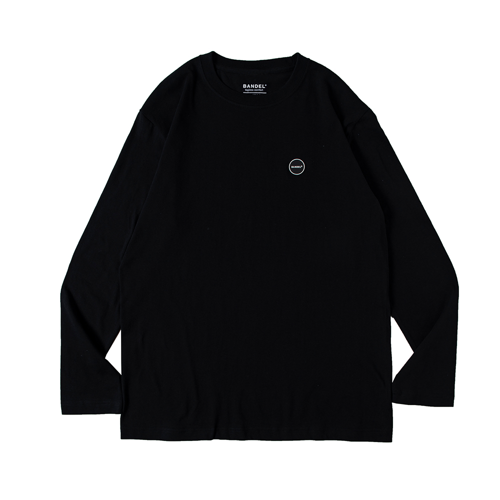 BANDEL ロンT L/S TEE Silicon Logo BAN-LT014 Black