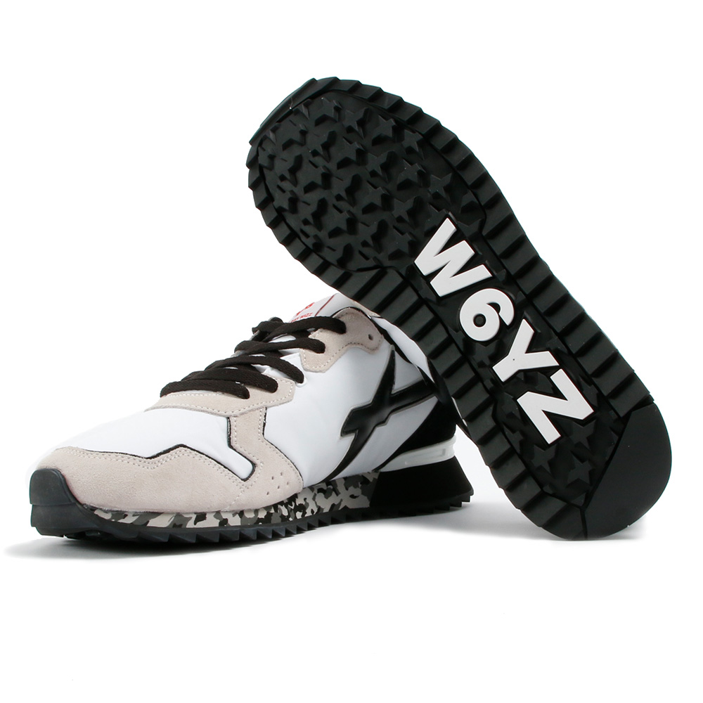 W6YZ スニーカー JET-M 06-1N20 BIANCOxNERO