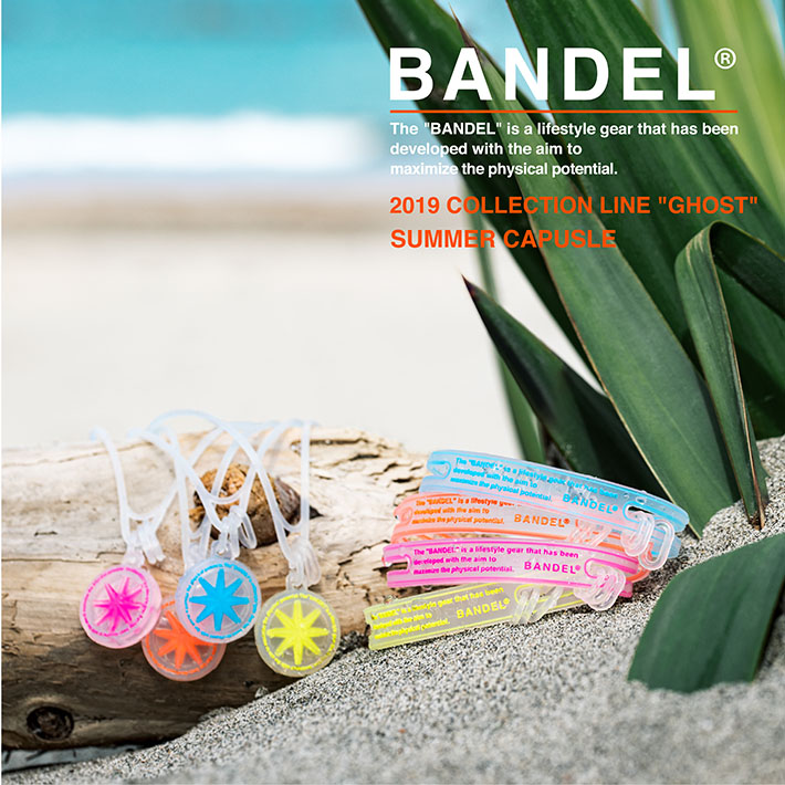 "BANDEL バンデル ブレスレット 2019 COLLECTION LINE""GHOST"" 19-04"