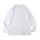 BANDEL ロンT L/S TEE Silicon Logo BAN-LT014 White