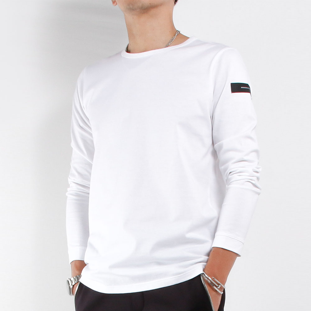 RESOUND CLOTHING ロンT jersey LONG TEE RC21-T-001 WHITE