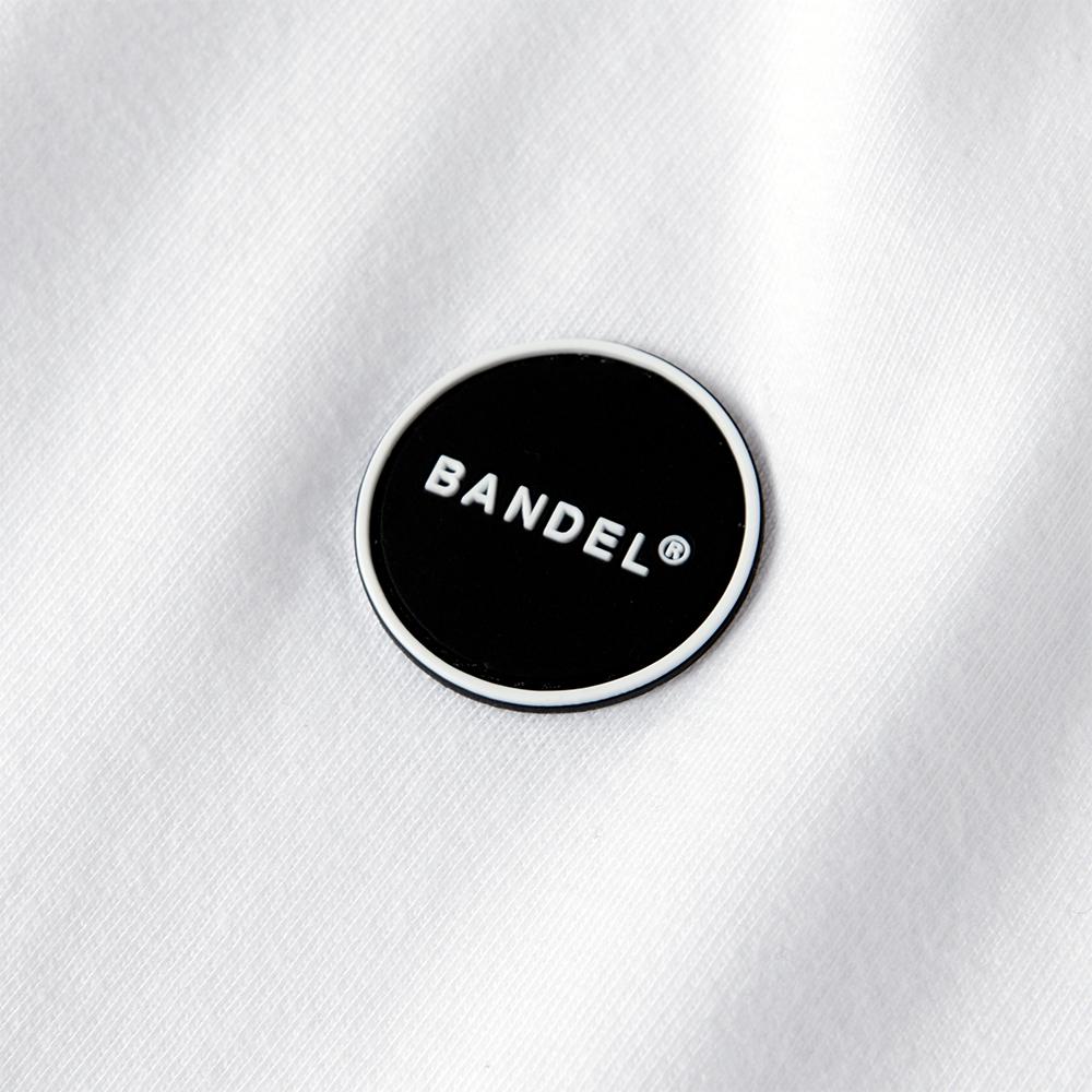 BANDEL ロンT L/S TEE HTOYL Arm BAN-LT015 White×Black