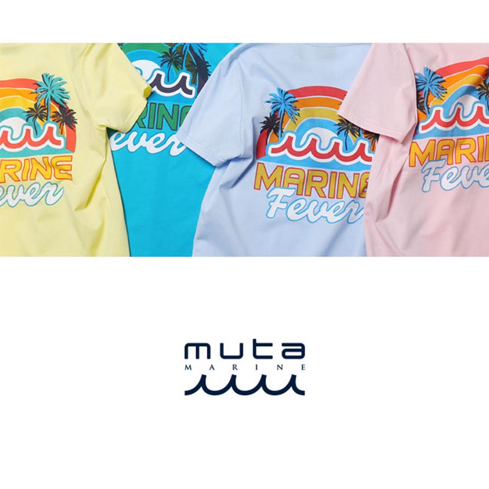 muta MARINE Tシャツ MARINE FEVER MMBC-171216 PINK