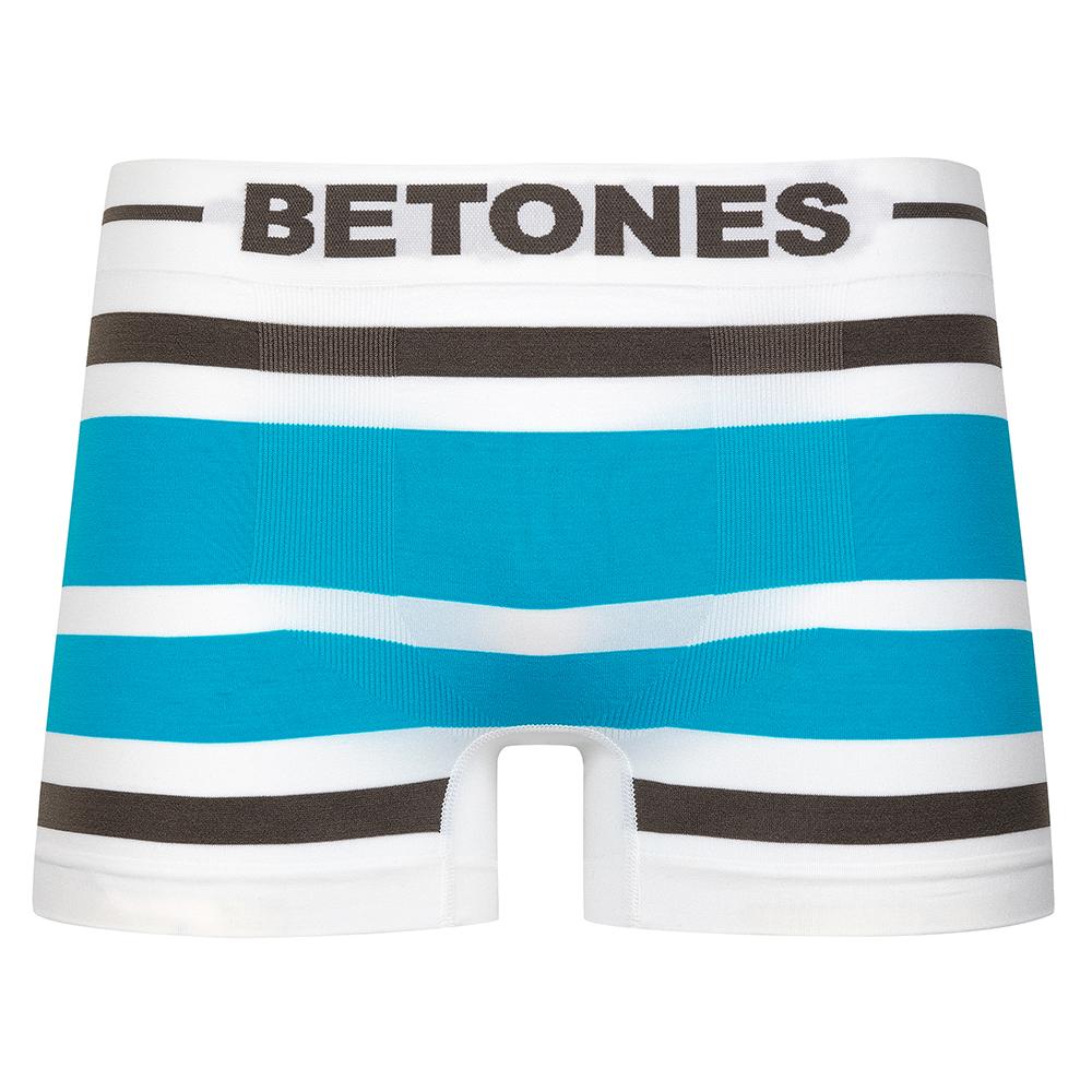 BETONES ボクサーパンツ AKER B001 BROWNxTURQUOISE
