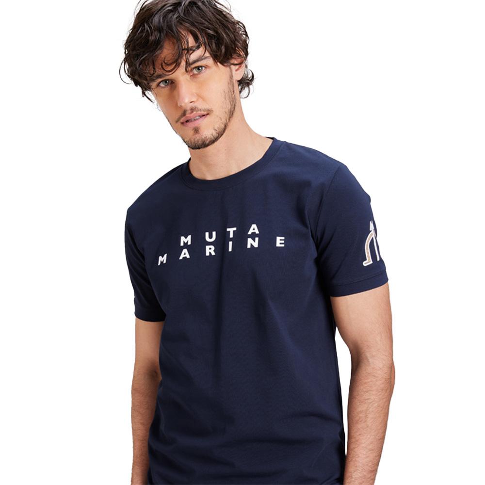 muta MARINE Tシャツ BACK TWIN WAVE MMAX-434194 NAVY