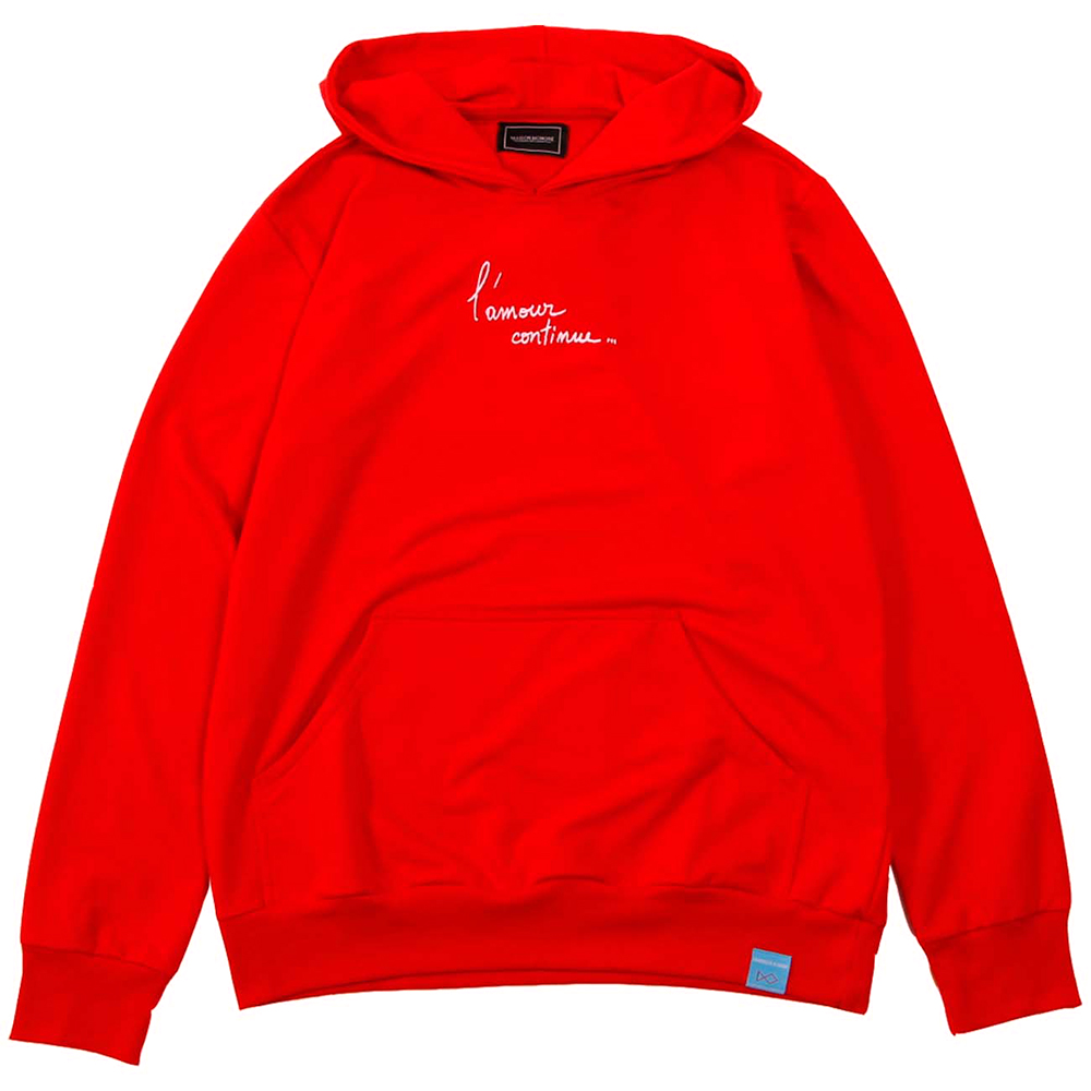MAISON HONORE フーディー Francesca  RED