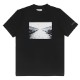 Wasted Paris Tシャツ Wasted x Kevin Cummins Board Pouring Rain BLACK