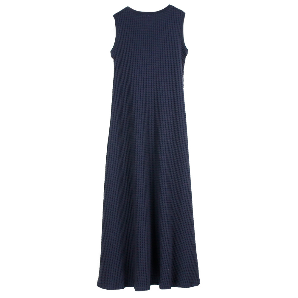 Seagreen ワンピース ONI WAFFLE one-piece LSEA21S8590-E NAVY