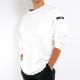 【8月上入荷/予約】RESOUND CLOTHING ロンT Double LOOSE pocket LONG RC21-T-003 TEE WHITE