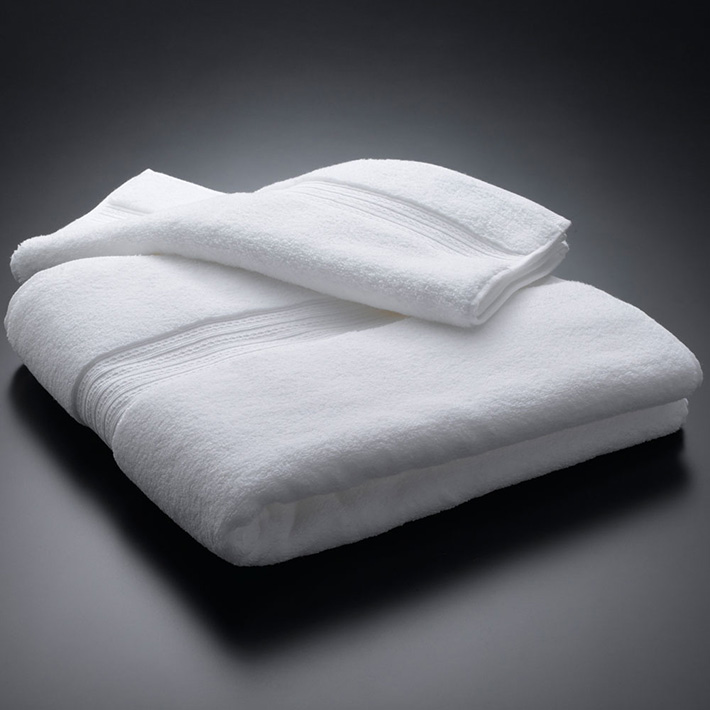 Micro Cotton マイクロコットン PREMIUM プレミアム バスタオル WHITE