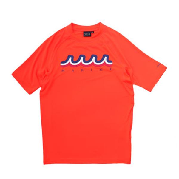 muta MARINE ラッシュTシャツ TORICO MMTK-439002 ORANGE