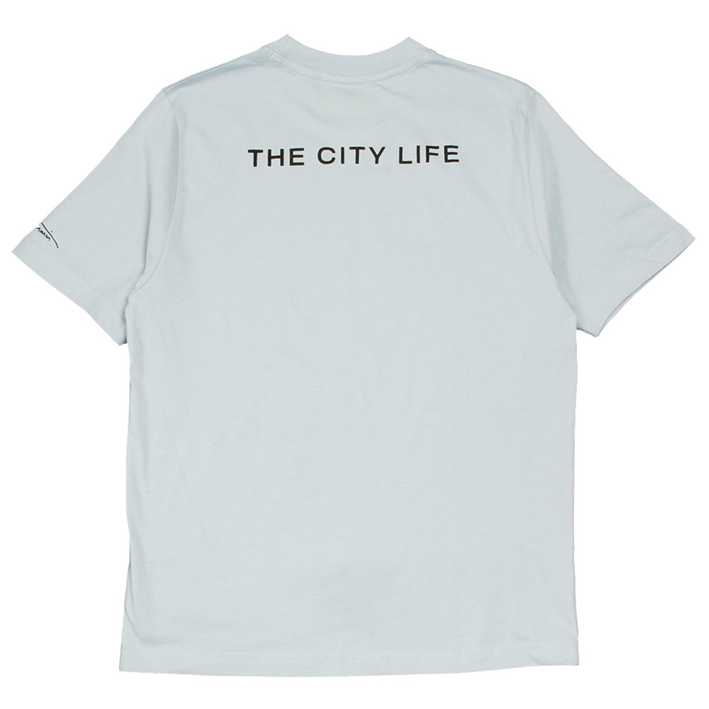 Wasted Paris Tシャツ Wasted x Kevin Cummins Life City LIGHTBLUE