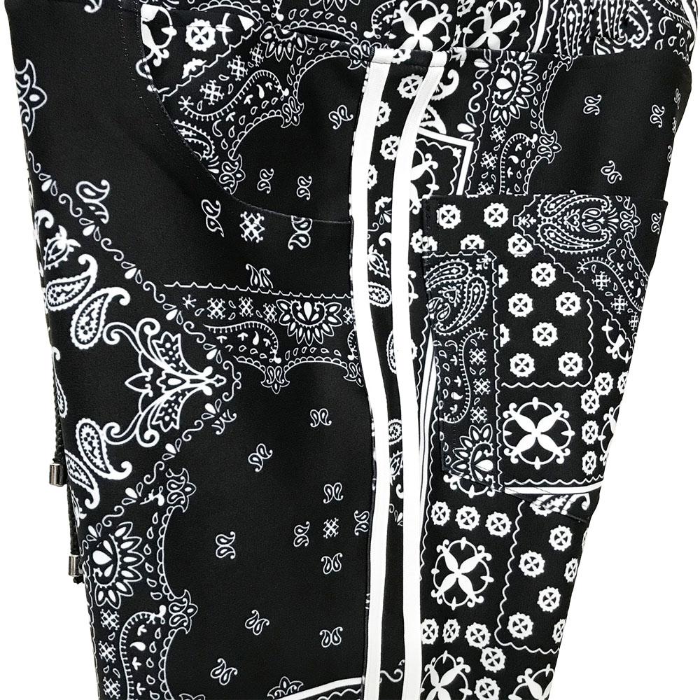 RESOUND CLOTHING パンツ Blind LINE PT BASIC-ST-008 BANDANA WH
