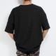 RESOUND CLOTHING Tシャツ VINTEAGE PILE LOOSE pocket TEE RC20-T-007 BLACK