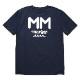 muta MARINE Tシャツ MMロゴ MMAX-434186 NAVY
