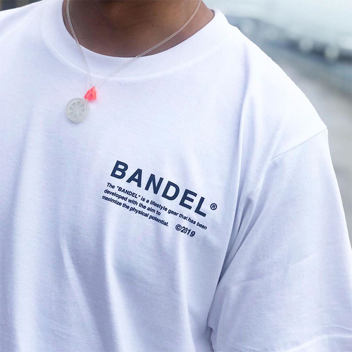 "BANDEL バンデル Tシャツ 2019 COLLECTION LINE""GHOST"" BAN-T010"