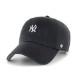 47BRAND ローキャップ Yankees Baserunner'47 BSRNR17GWS BLACK