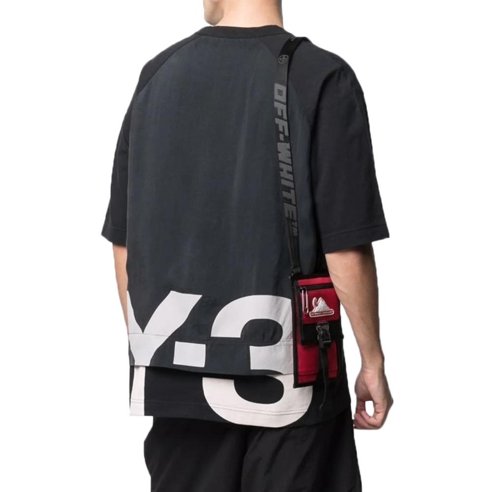 Y-3 Tシャツ M SHADE RAW JERSEY GFX SS TEE GV6083 BLACK