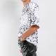 RESOUND CLOTHING ラッシュTシャツ BANDANA LOOSE RUSH RC21-T-004 WHITE