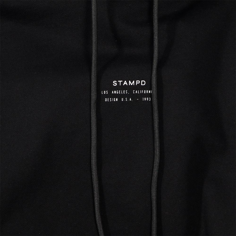 STAMPD フーディー Stacked Puffer Hoodie SLA-M2169JK BLACK