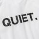 BANDEL ポロシャツ QUIET. GOLF POLO BG-QTPL001 WHITExBLACK