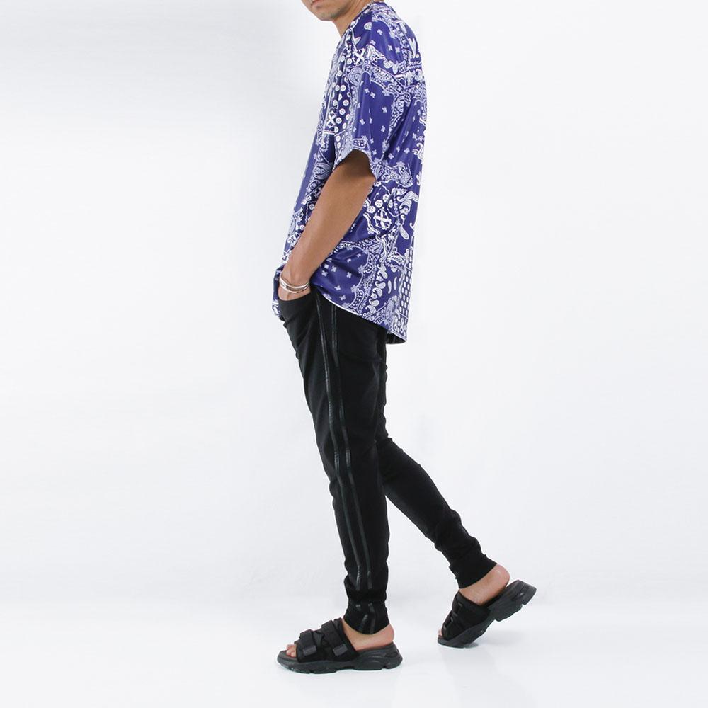 RESOUND CLOTHING ラッシュTシャツ BANDANA LOOSE RUSH RC21-T-004 BLUE