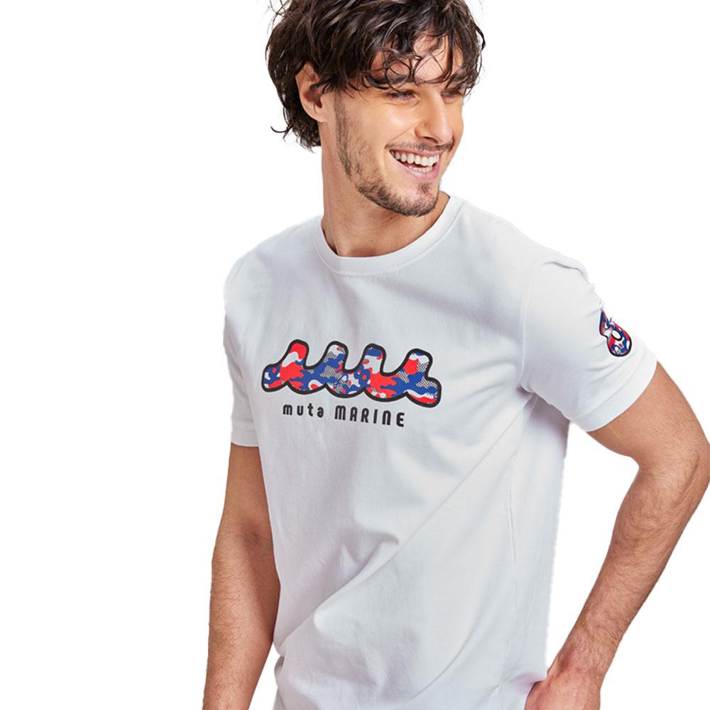 muta MARINE Tシャツ DIGI CAMO MMAX-434193 WHITE