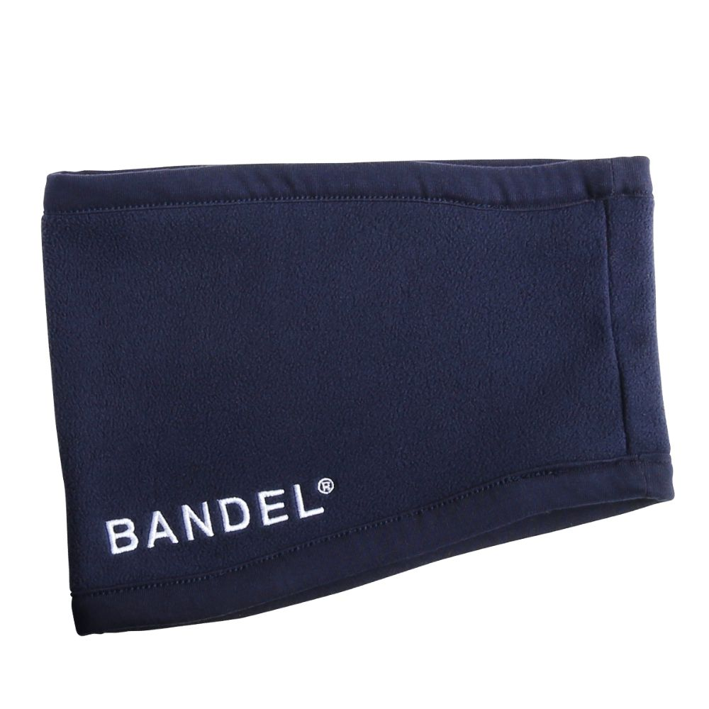 BANDEL ネックウォーマー micro fleece necwarmer NAVYxGREY