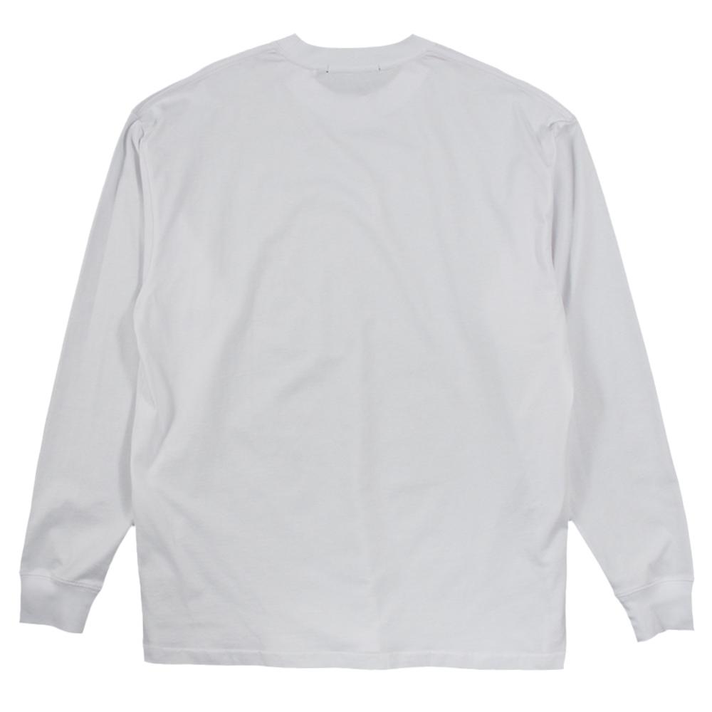 STAMPD ロンT STC Logo LongSleeveT S-M2590LT WHITE