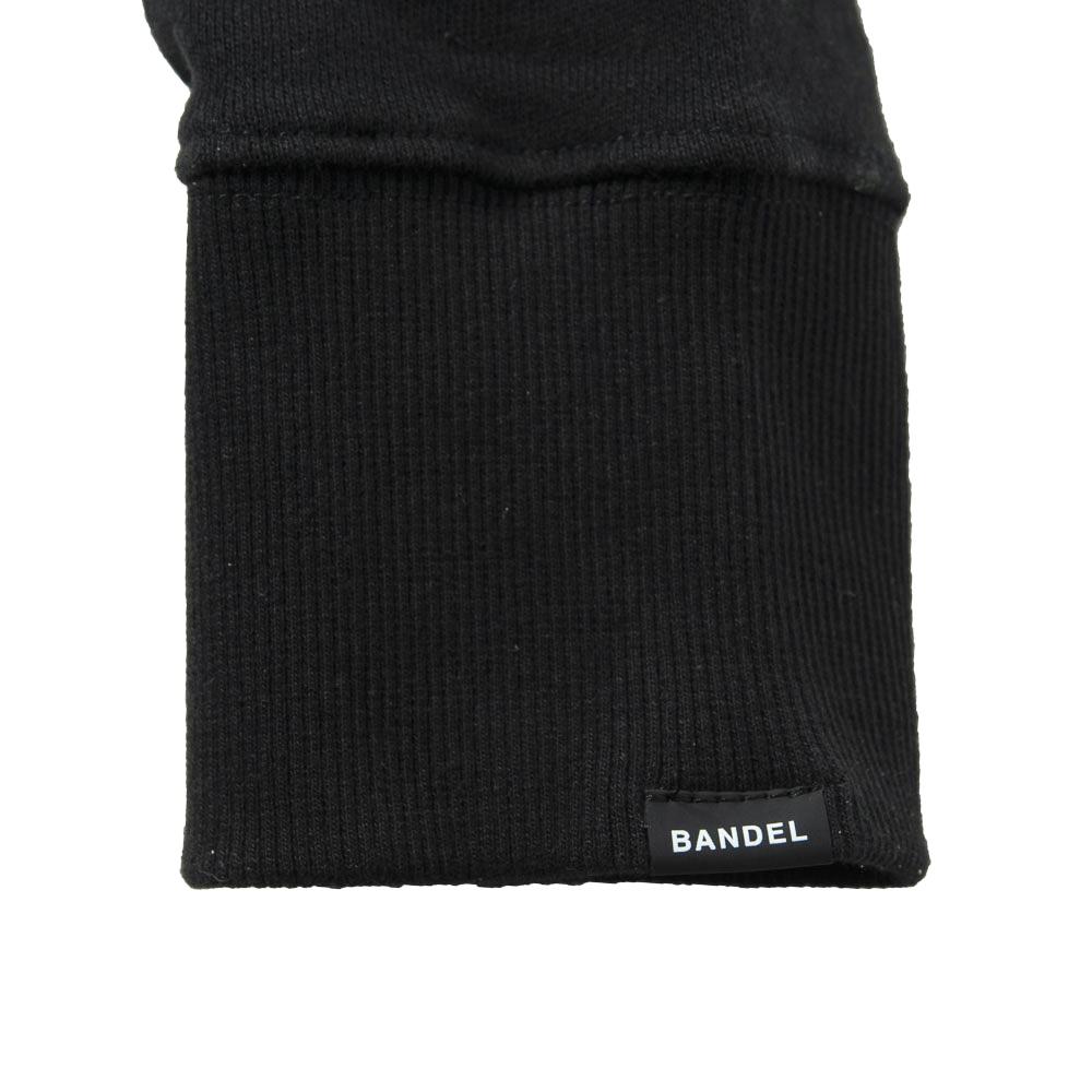 BANDEL スウェット FUCKIN' SHOT GOLF CREW NECK BG-FSCNS001 BLACKxWHITE