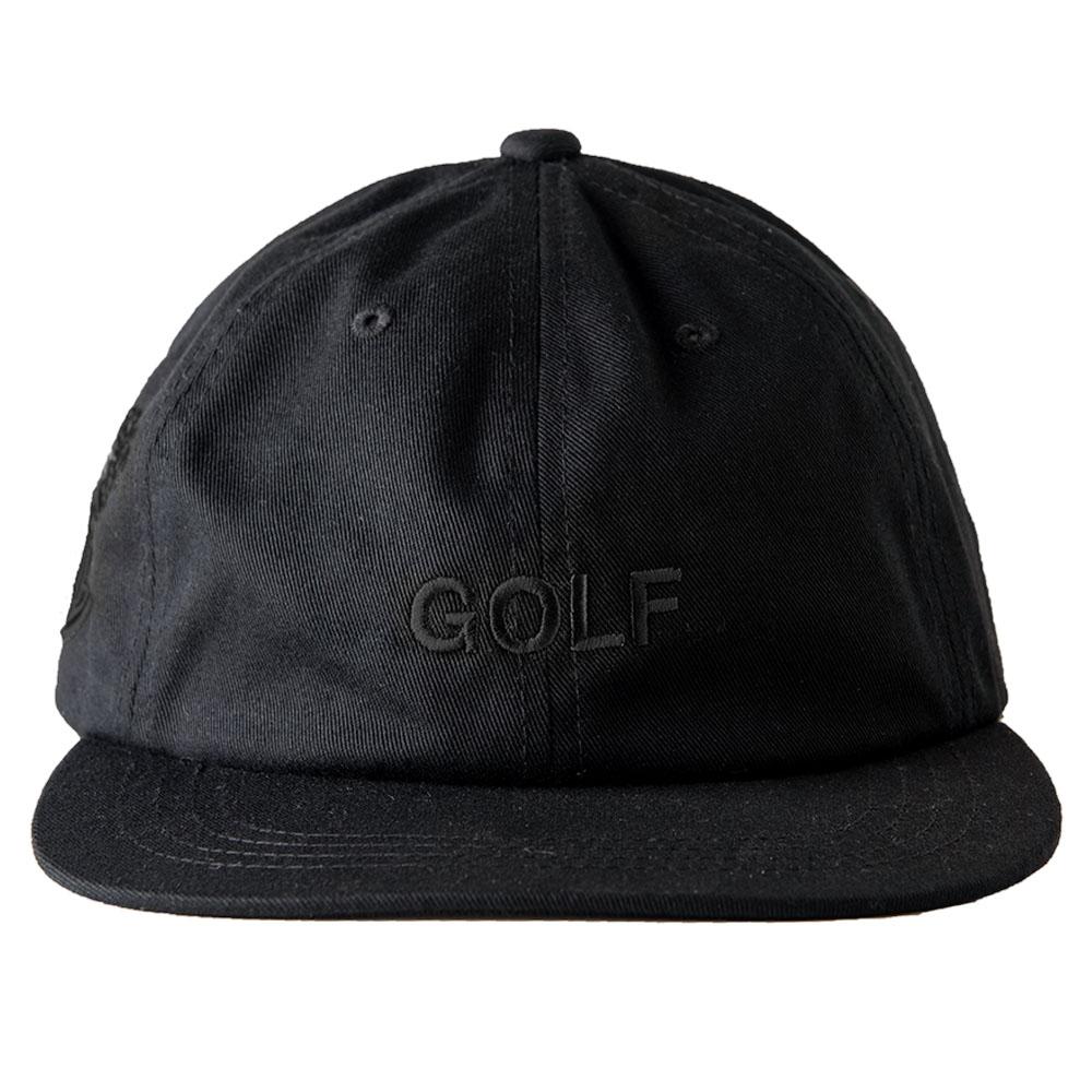 BANDEL キャップ WG GOLF FLAT VISOR GOLF CAP BG-GWFVCP BLACKxBLACK