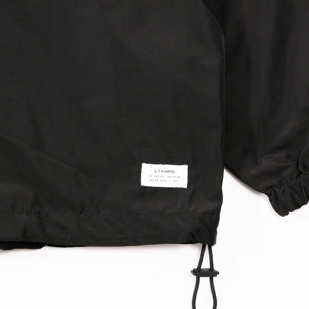 STAMPD プルオーバー Mist Mix Pullover SLA-M2170JK BLACK