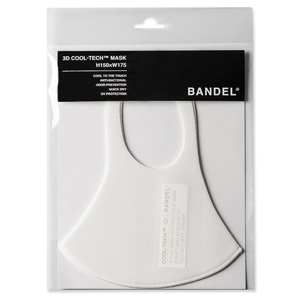 BANDEL 3D COOL TECH Mask Cynical Message DM003 WHITExGREY