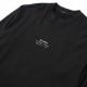 STAMPD ロンT STC Logo LongSleeveT S-M2590LT BLACK