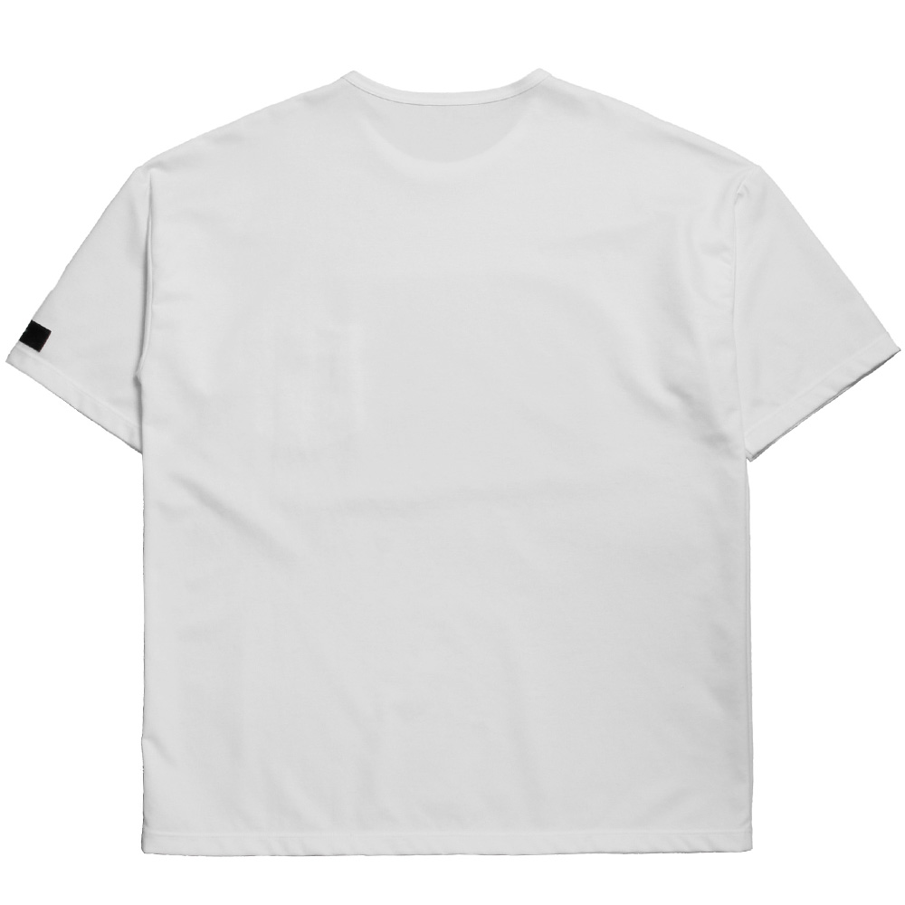 RESOUND CLOTHING Tシャツ Double LOOSE pocket TEE RC20-T-008 WHITE