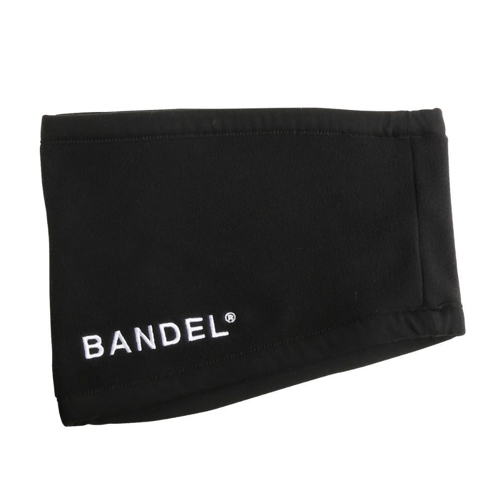 BANDEL ネックウォーマー micro fleece necwarmer BLACKxNAVY