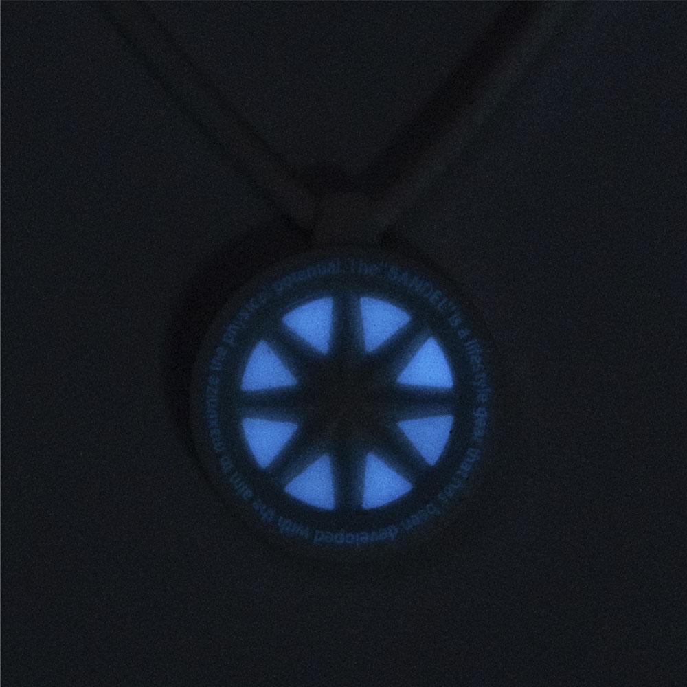BANDEL ネックレス GHOST Luminous Black