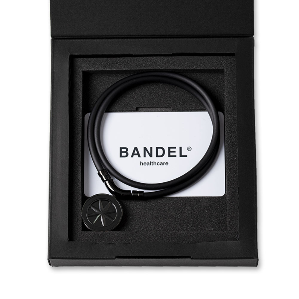"BANDEL 磁気ネックレス Healthcare Line Earth ""Cosmic Edition"" All Black"