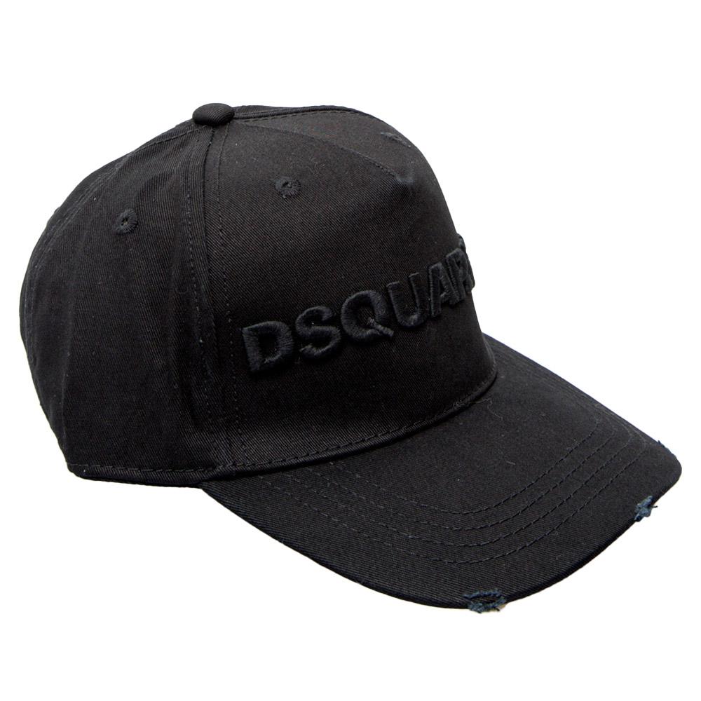 DSQUARED2 キャップ LBCM0028 05C00001 M084 NEROxNERO