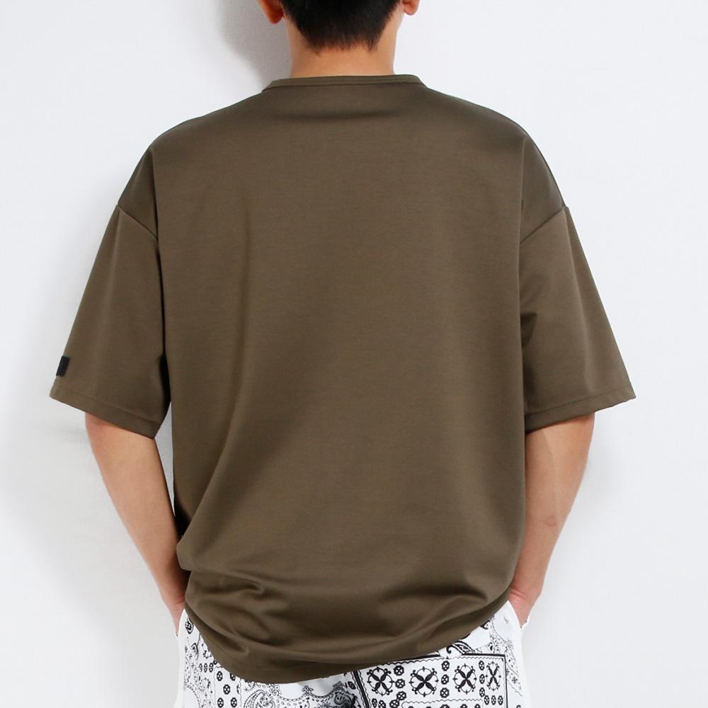 RESOUND CLOTHING Tシャツ Double LOOSE pocket TEE RC20-T-008 KHAKI