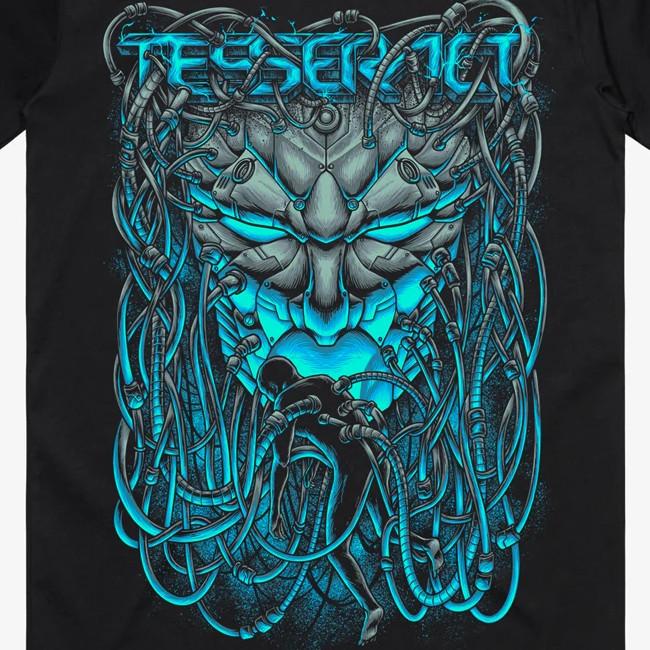 TesseracT - テサラクト - Smile Tシャツ(ブラック)