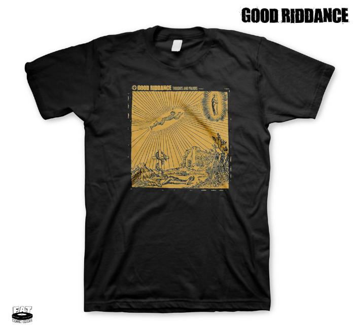 Good Riddance / グッド・リダンス - Thoughts And Prayers Tシャツ(ブラック)