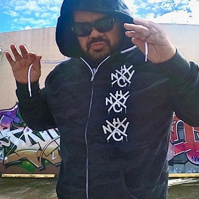 【限定】Casa De Roc /(Madball Hoya) - Triple OG プレミアム・プルオーバーパーカー(迷彩)