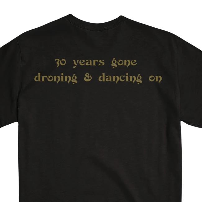 EARTH / アース - 30 YEARS Tシャツ (ブラック)